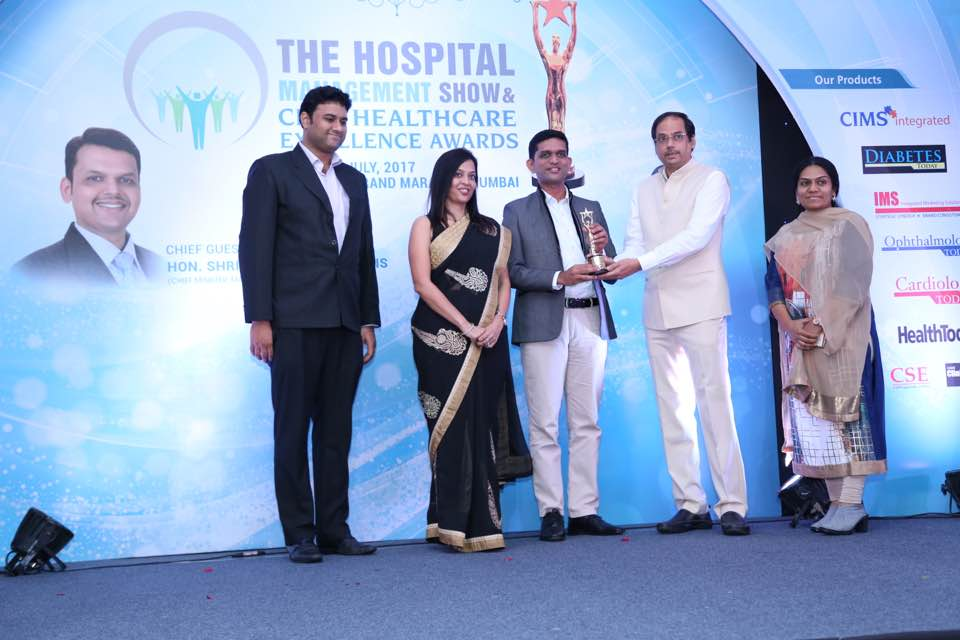 Best Hospital Unit In Dental Care – The Hospital Management Show & CIMS Healthcare Excellence Awards 2017