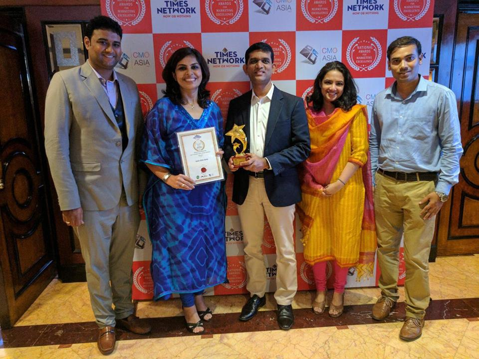"""Most Advanced Dental Service Provider 2017' Award At """" Times Influence, National Excellence Awards"""