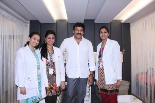 Our Doctor's with Actor Chiranjeevi