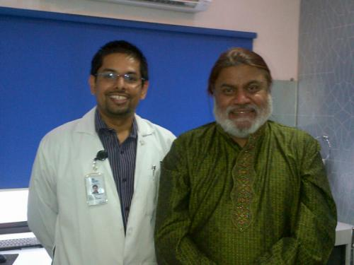 Our Consultant Dr. Arun Kulandaivelu T with India's Leading Voice Expert - Mr. Ananth Vaidyanathan